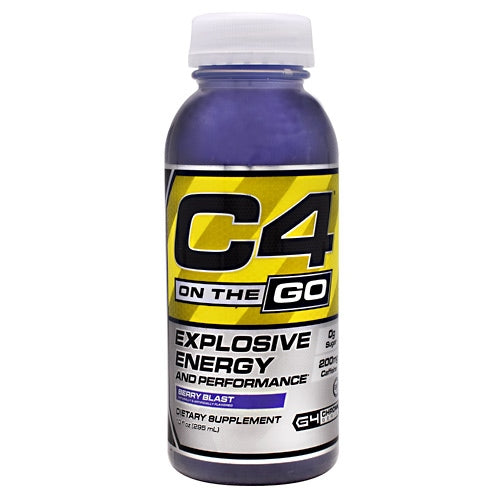 Cellucor C4 RTD - Berry Blast - 12 Bottles - 842595102536