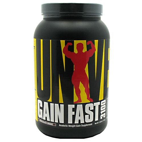 Universal Nutrition Gain Fast 3100 - Chocolate Shake - 2.55 lb - 039442012166