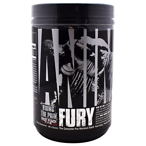 Universal Nutrition Animal Fury - Fruit Punch - 30 Servings - 039442032720