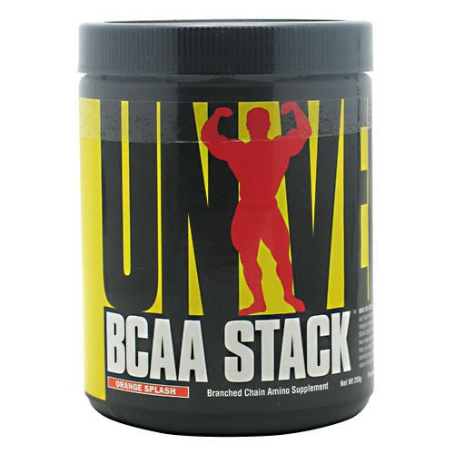 Universal Nutrition BCAA Stack - Orange Splash - 250 ea - 039442051547