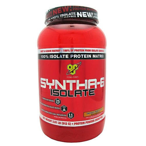 BSN Isolate Syntha-6 - Chocolate Peanut Butter - 2 lb - 834266002696
