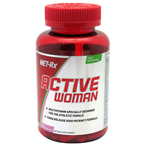 MET-Rx Active Woman - 90 Tablets - 786560174862