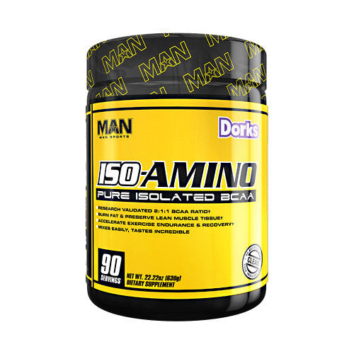 MAN Sports Iso-Amino - Dorks - 90 Servings - 853360006133