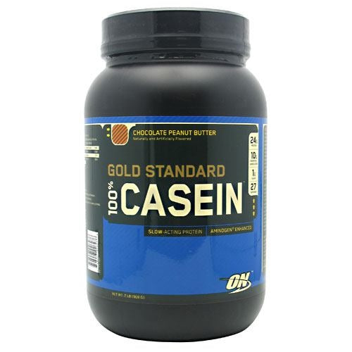 Optimum Nutrition Gold Standard 100% Casein - Chocolate Peanut Butter - 2 lb - 748927026276