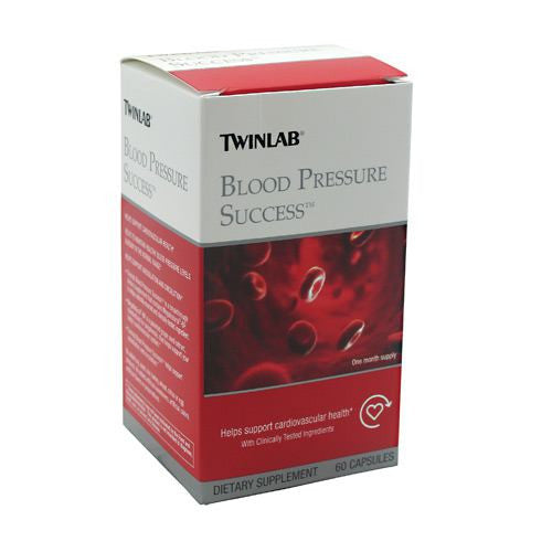 TwinLab Blood Pressure Success - 60 Capsules - 027434040624
