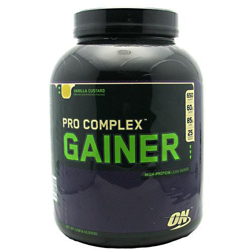 Optimum Nutrition Pro Complex Gainer - Vanilla Custard - 5.08 lb - 748927029734