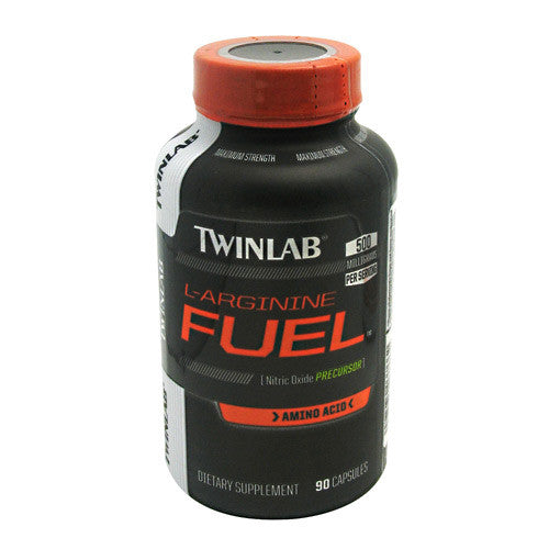 TwinLab L-Arginine Fuel - 90 caps - 90 Servings - 027434037662