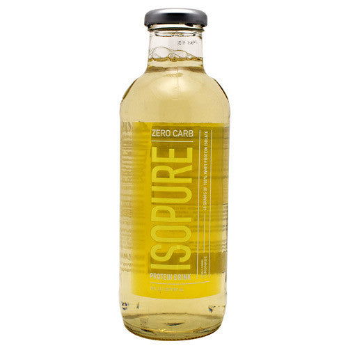 Natures Best Zero Carb Isopure RTD - Lemonade - 12 Bottles - 089094036003