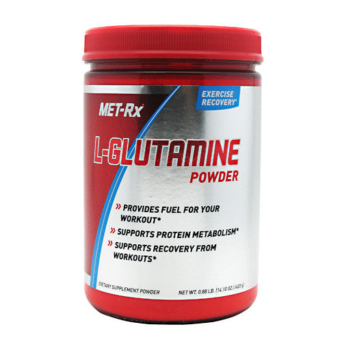 MET-Rx L-Glutamine Powder - Unflavored - 400 g - 786560367295
