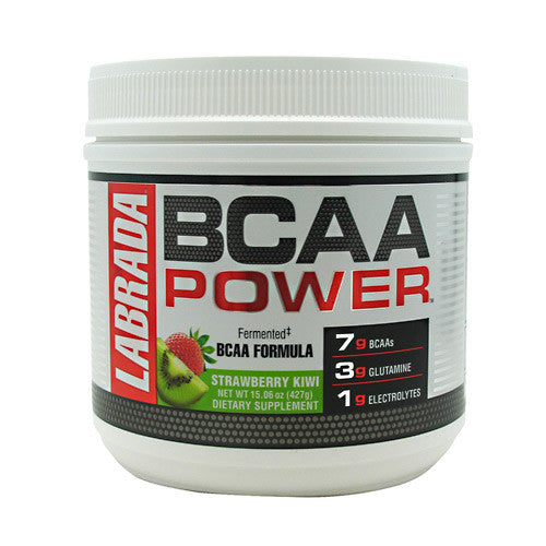 Labrada Nutrition BCAA Power - Strawberry Kiwi - 30 Servings - 710779100329