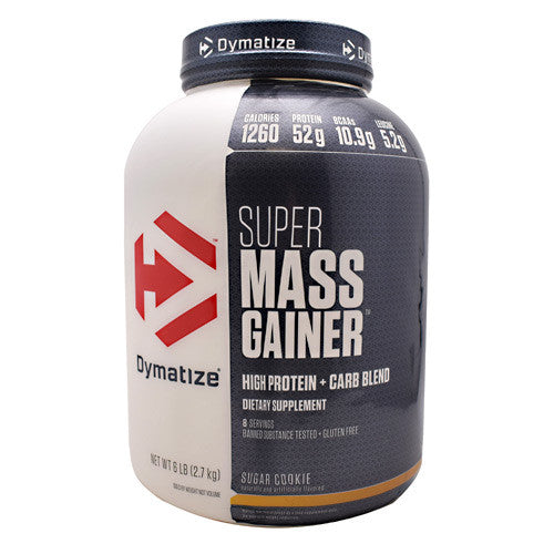 Dymatize Nutrition Super Mass Gainer - Sugar Cookie - 6 lbs - 705016331345