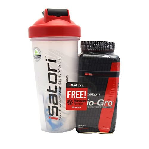 iSatori Bio-Gro + Blender Bottle - Unflavored - 180 g - 883488003110