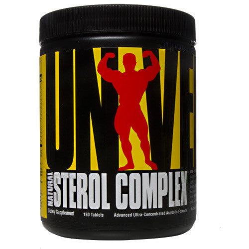Universal Nutrition Natural Sterol Complex - 180 Tablets - 039442043924
