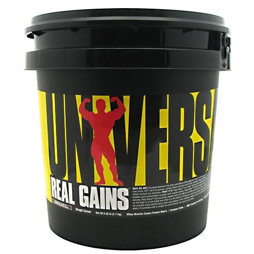 Universal Nutrition Real Gains - Chocolate Ice Cream - 6.85 lb - 039442011992