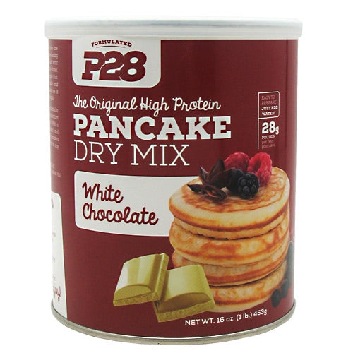 P28 Foods High Protein Pancake Mix - White Chocolate - 16 oz - 738416000085