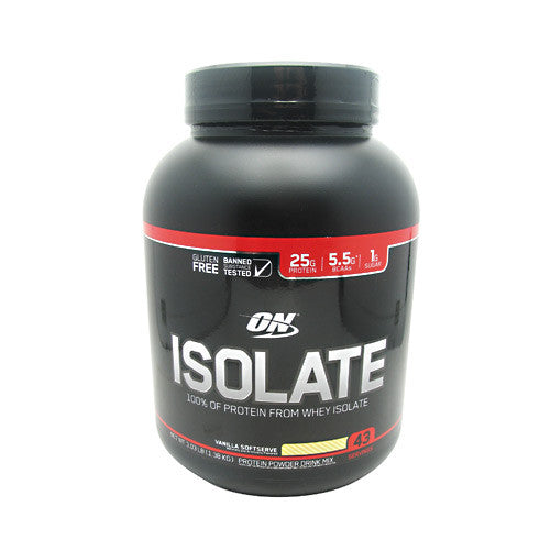Optimum Nutrition Isolate - Vanilla Softserve - 3.03 lb - 748927054484
