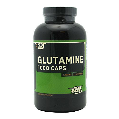 Optimum Nutrition Glutamine 1000 Caps - 240 Capsules - 748927025859
