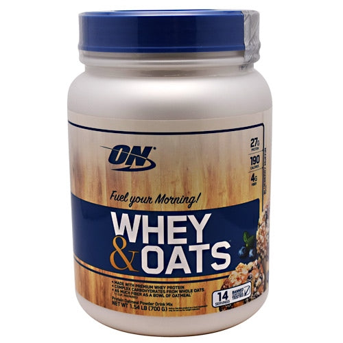Optimum Nutrition Whey & Oats - Blueberry Muffin - 14 Servings - 748927056679