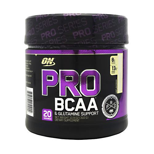 Optimum Nutrition Pro Series Pro BCAA - Unflavored - 20 Servings - 748927051902