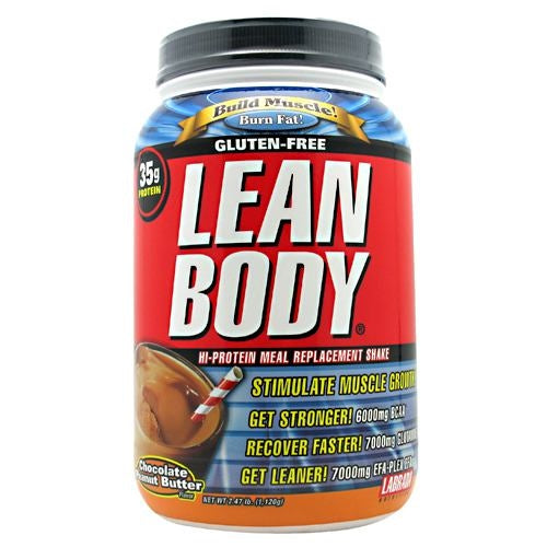Labrada Nutrition Lean Body - Chocolate Peanut Butter - 2.47 lb - 710779112940