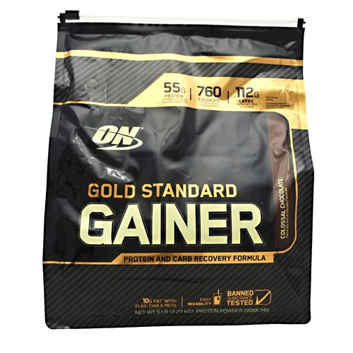 Optimum Nutrition Gold Standard Gainer - Colossal Chocolate - 5 lb - 748927055627
