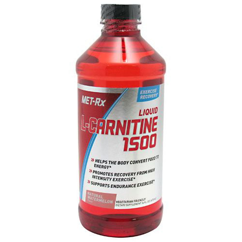 MET-Rx Liquid L-Carnitine 1500 - Natural Watermelon - 16 oz - 786560362252