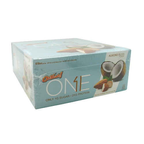 ISS OhYeah! One Bar - Almond Bliss - 12 Bars - 788434107969