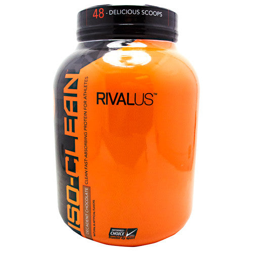 Rivalus ISO-Clean - Decadent Chocolate - 3.42 lbs - 807156002083