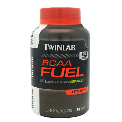 TwinLab Strength BCAA Fuel - 180 Tablets - 027434031493