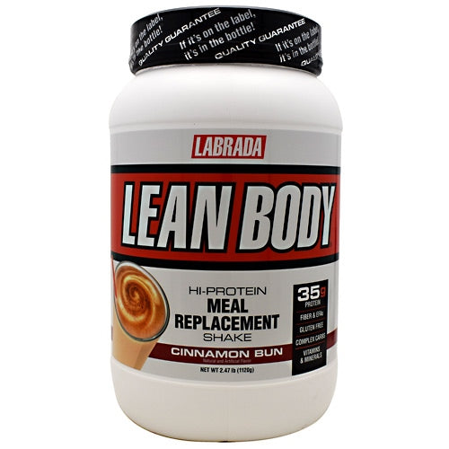 Labrada Nutrition Lean Body - Cinnamon Bun - 2.47 lb - 710779112957