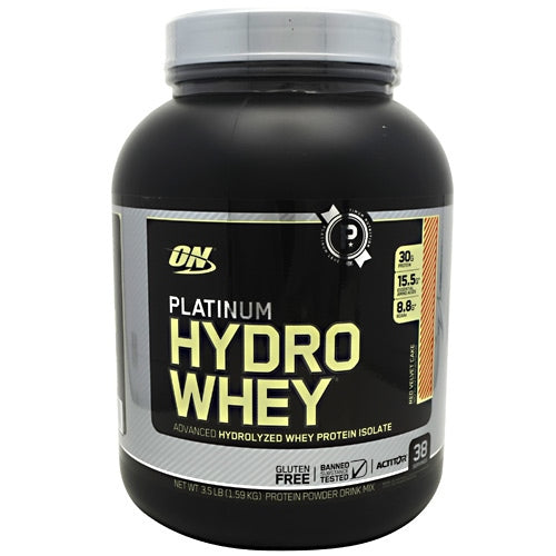 Optimum Nutrition Platinum Hydrowhey - Red Velvet Cake - 3.5 lb - 748927054507