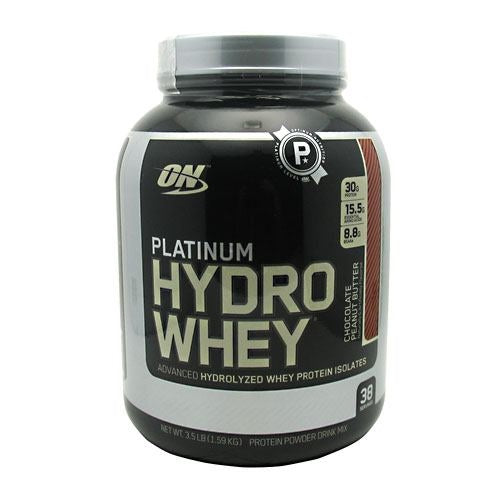 Optimum Nutrition Platinum Hydrowhey - Chocolate Peanut Butter - 3.5 lb - 748927050592