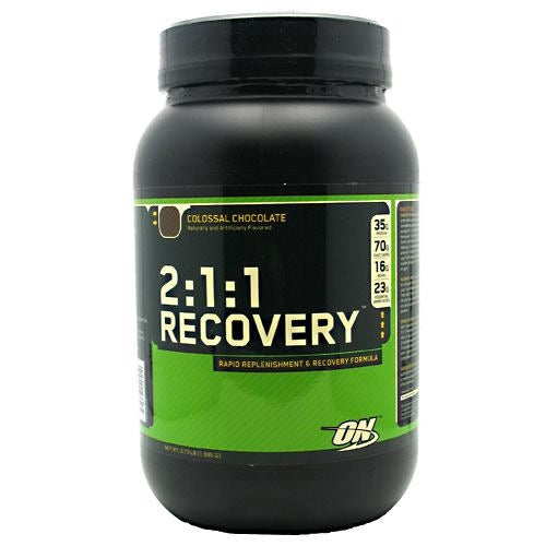 Optimum Nutrition 2:1:1 Recovery - Colossal Chocolate - 3.73 lb - 748927020410