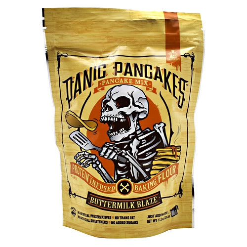 Sinister Labs Panic Pancakes Pancake Mix - Buttermilk Blaze - 6 Servings - 853698007253