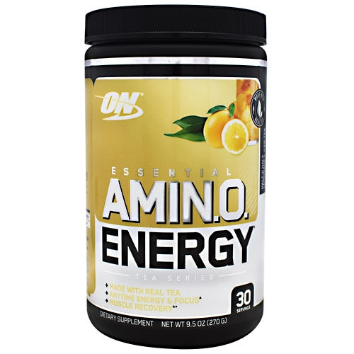 Optimum Nutrition Tea Series Essential Amino Energy - Half & Half Lemonade & Iced Tea. - 30 Servings - 748927057959