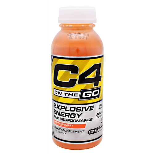 Cellucor C4 RTD - Orange Burst - 12 Bottles - 842595102512