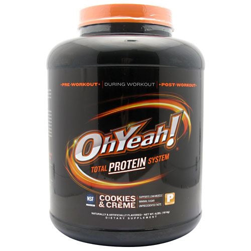 ISS OhYeah! Protein Powder - Cookies & Creme - 4 lb - 788434110556