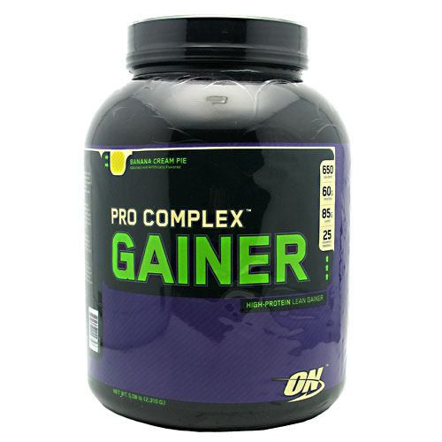 Optimum Nutrition Pro Complex Gainer - Banana Cream Pie - 5.08 lb - 748927029758