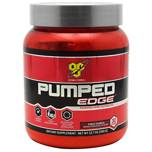 BSN Pumped Edge - Fruit Punch - 30 Servings - 834266001231