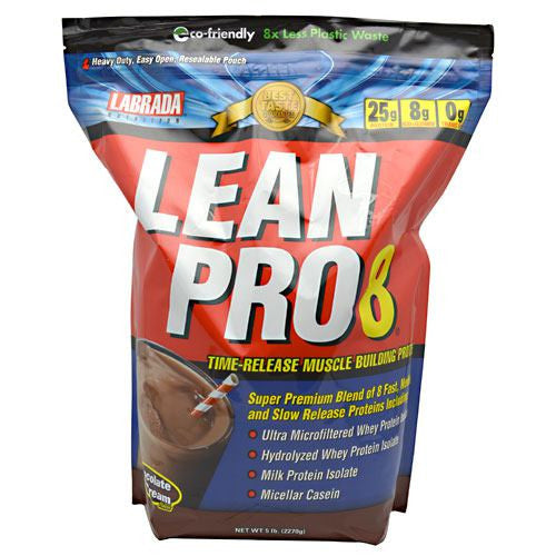 Labrada Nutrition Lean Pro8 - Chocolate Ice Cream - 5 lb - 710779112841