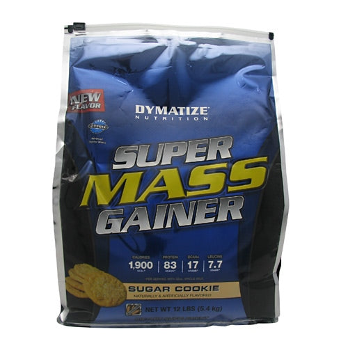 Dymatize Super Mass Gainer - Sugar Cookie - 12 lb - 705016331567