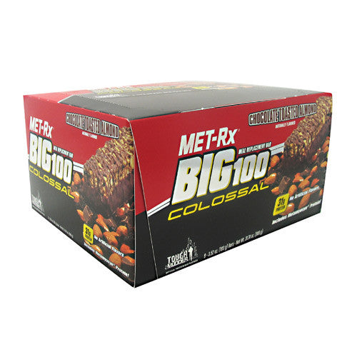 MET-Rx Big 100 Colossal - Chocolate Toasted Almond - 9 Bars - 786560557047