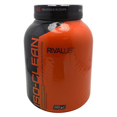 Rivalus ISO-Clean - Chocolate Peanut Butter - 3.42 lbs - 807156002106