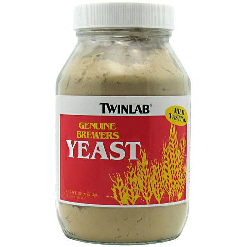 TwinLab Genuine Brewers Yeast - 18 oz - 027434011020