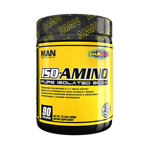 MAN Sports Iso-Amino - Sour Batch Kids - 90 Servings - 853360006126