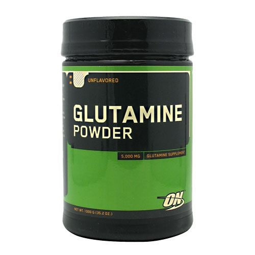 Optimum Nutrition Glutamine Powder - Unflavored - 1000 g - 748927029109