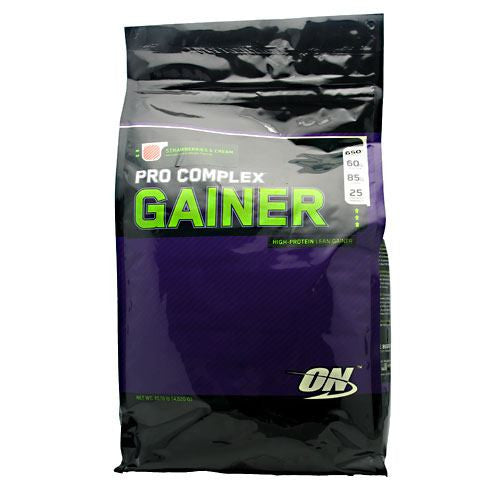 Optimum Nutrition Pro Complex Gainer - Strawberries & Cream - 10.16 lb - 748927029789