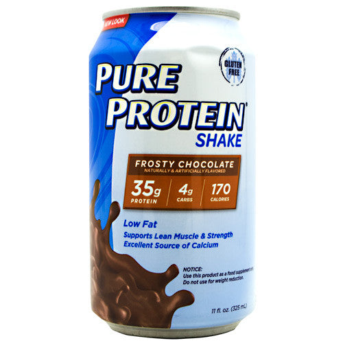 PURE PROTEIN Pure Protein Shake - Frosty Chocolate - 12 Cans - 00749826130699