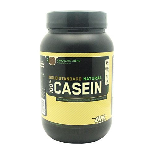 Optimum Nutrition Gold Standard Natural 100% Casein - Chocolate Creme - 2 lb - 748927024265
