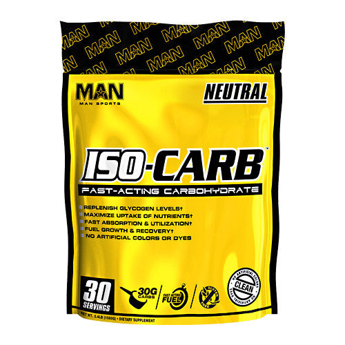 MAN Sports ISO-Carb - Neutral - 30 Servings - 853360006768